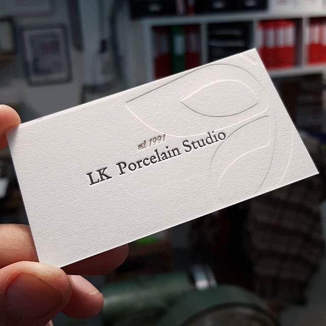 Визитная карточка, высокая печать с двух сторон. #letterpress #высокаяпечать